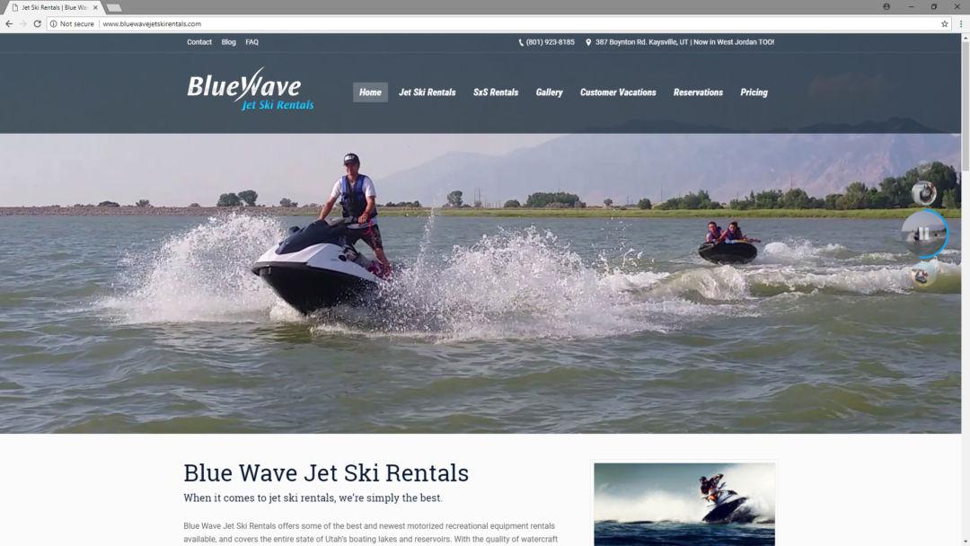 BlueWave Jetski Rentals